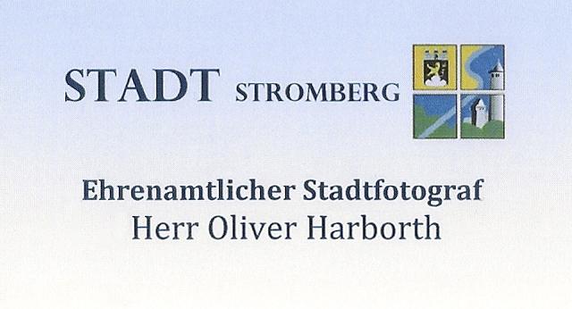 Visitenkarte Stadtfotograf stromberg, Oliver Harborth